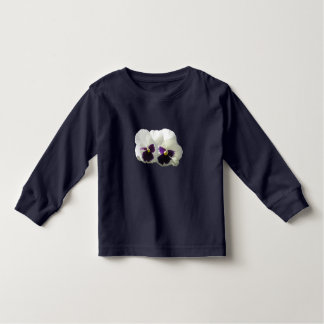 TWO HAPPY PANSIES TODDLER T-SHIRT