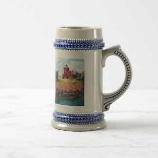 Two Harbors Lighthouse Stein Mugs