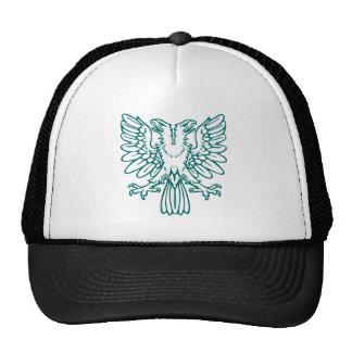 Two Headed Eagle - Moss Green Trucker Hat