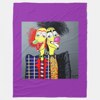 TWO HEADS ARE BETTER THEN ONE FLEECE BLANKET
