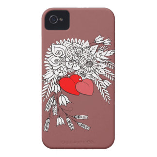 Two Hearts 2 iPhone 4 Covers