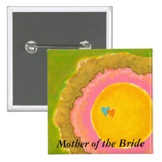 Two Hearts love romantic wedding art painting Pin