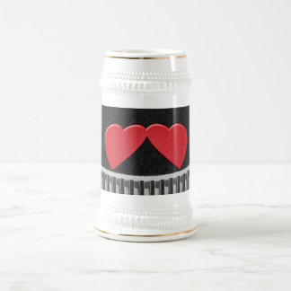 Two Hearts Stein Beer Steins