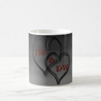 Two Hearts Together as One Coffee Mug