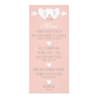 Two Hearts Wedding Custom Rack Cards