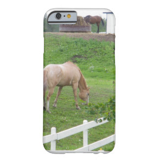 Two Horses Barely There iPhone 6 Case