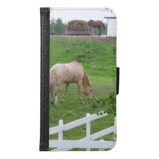 Two Horses Samsung Galaxy S6 Wallet Case