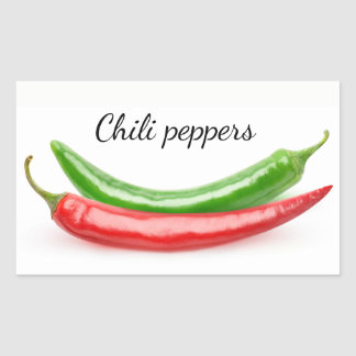 Two hot peppers sticker