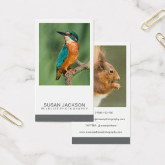 Two Image Photography Business Card