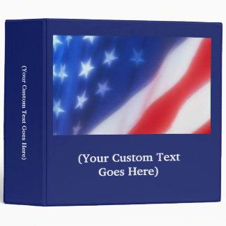 Two Inch Custom Patriotic Binder