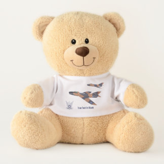 Two Israeli Super Mystères Teddy Bear
