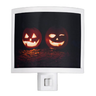 Two Jack O' Lantern Night Light