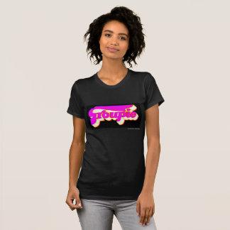 two kats black GROUPIE design t_shirt T-Shirt