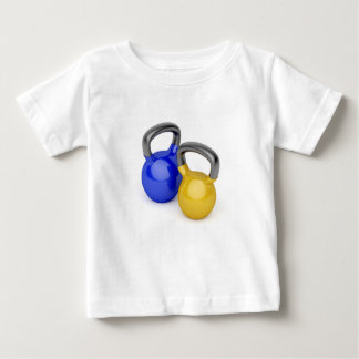 Two kettlebells baby T-Shirt