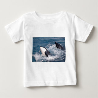 Two killer whales baby T-Shirt