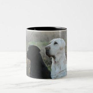 Two labs mug