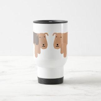 Two Lakeland Terriers Travel Mug