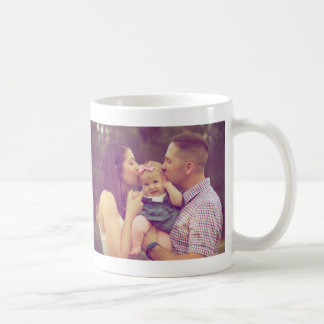 Two Landscape Orientation Photo Layout Mug