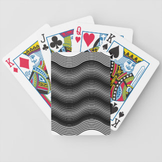 Two layers consisting of curves with identical inc bicycle playing cards