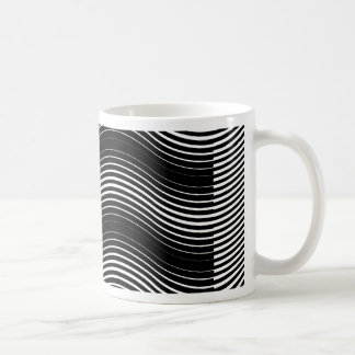 Two layers consisting of curves with identical inc coffee mug