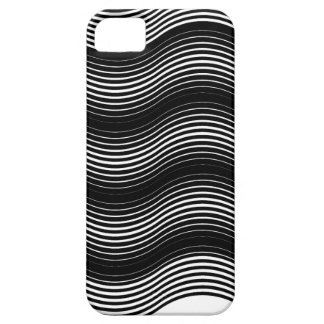 Two layers consisting of curves with identical inc iPhone 5 cover