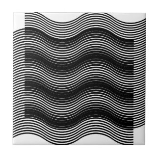 Two layers consisting of curves with identical inc tile