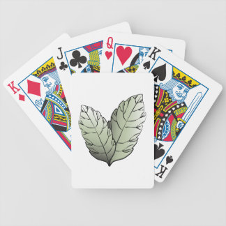 Two Leaves Bicycle Playing Cards
