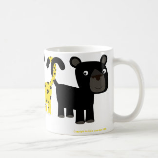 Two Leopards mug