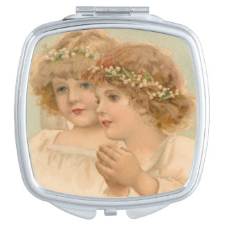 Two Little Angels, Mirror For Makeup
