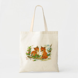 Two Little Foxes Tote