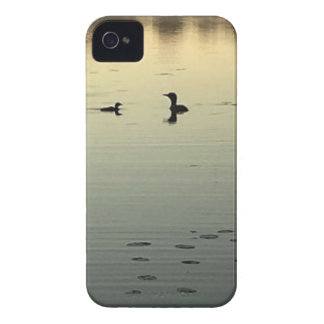 Two loons iPhone 4 case