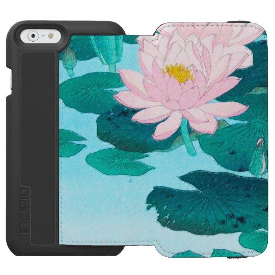 Two Lotus Flowers Incipio Watson™ iPhone 6 Wallet Case