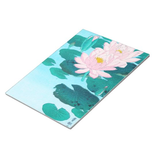 Two Lotus Flowers Notepad