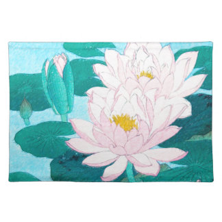 Two Lotus Flowers Placemat