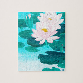 Two Lotus Flowers Puzzle