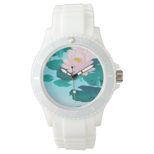 Two Lotus Flowers Watch