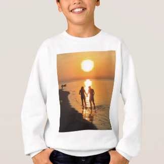 Two lovers at sunrise sweatshirt