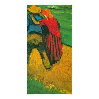 Two Lovers by Vincent van Gogh Personalized Photo Card