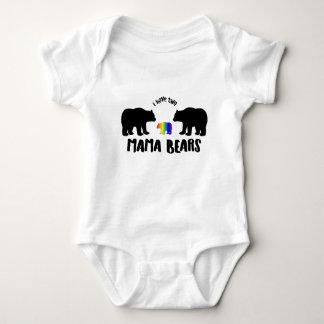 Two Mama Bears Baby Bodysuit