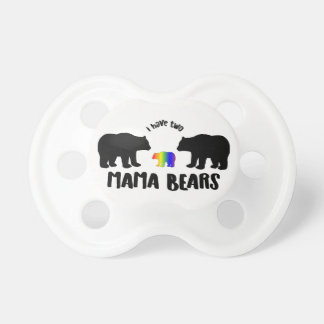 Two Mama Bears Pacifier Binky