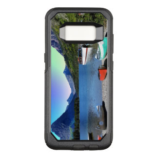 Two Medicine lake Glacier National Park Montana OtterBox Commuter Samsung Galaxy S8 Case
