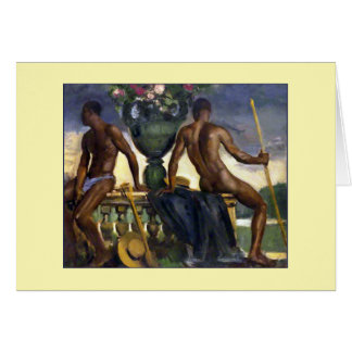Two Men by Ranken Card
