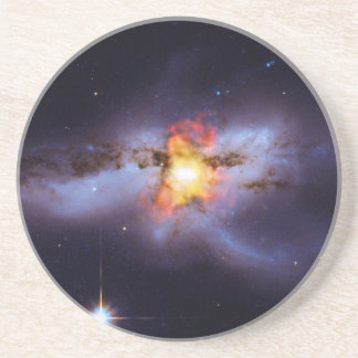 Two Merging Black Holes in Galaxy NGC 6240 Coaster