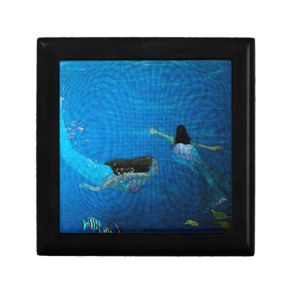 Two Mermaids Swimming Gift Boxes