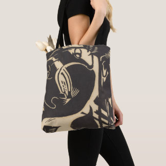 Two Mythical Animals Zwei Fabeltiere Tote Bag