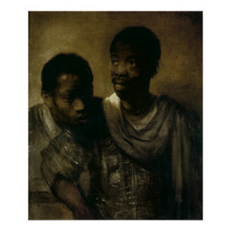 Two Negroes, 1661 Posters
