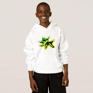 Two neon starfish