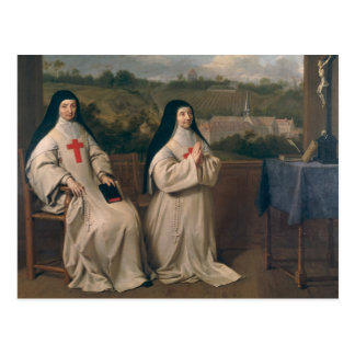 Two Nuns Postcard