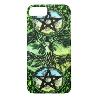 Two of Pentacles Tarot Card iPhone 7 Case