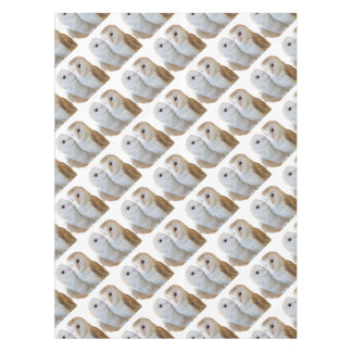 two owls friends tablecloth